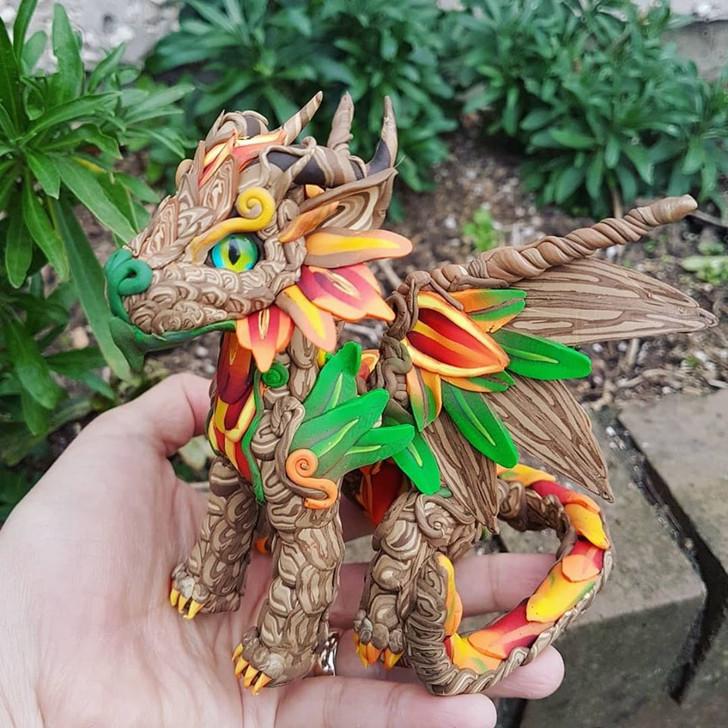 Autumn Baby Dragon