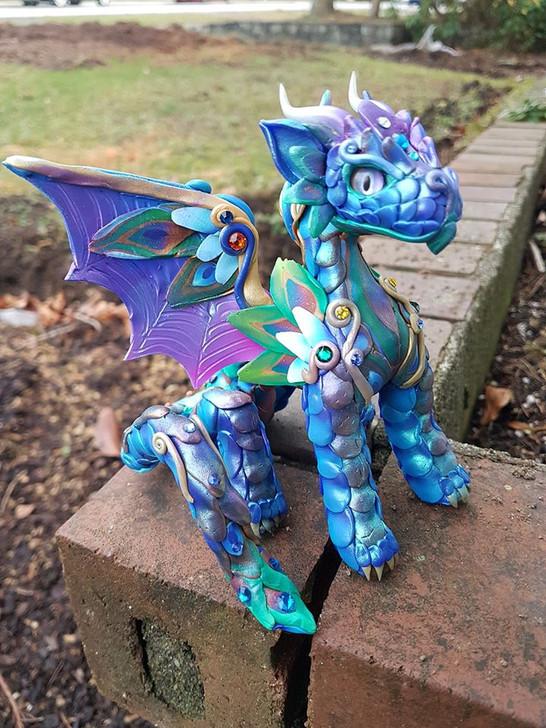 Peacock#1 Baby Dragon
