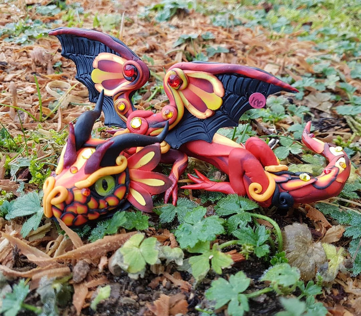 Fire Baby Dragon #1