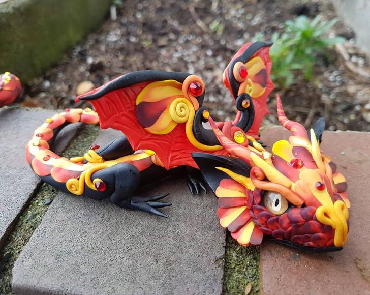 Fire Baby Dragon #2