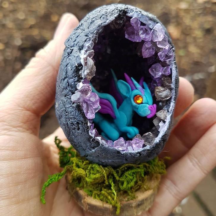 Geode Dragon Egg #2