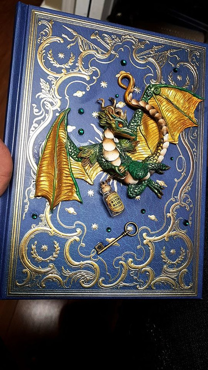 Green Witch Dragon Journal