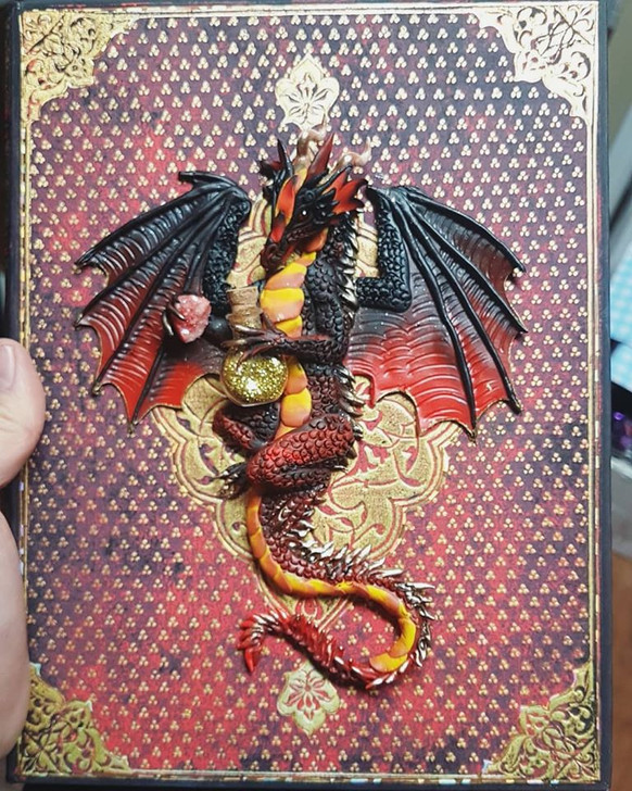 Red Witch Dragon Journal