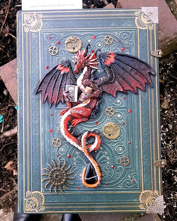 Necromancer Red Dragon Spell Journal