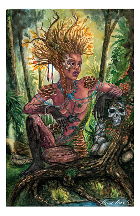"""""""Deep Forest"""" Print"""