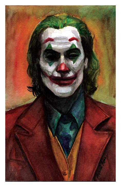 """""""The Joker"""" Print"""