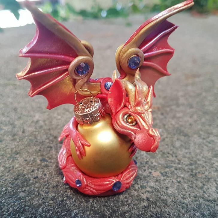 Dragon Series 2 Ornament Chameleon 48