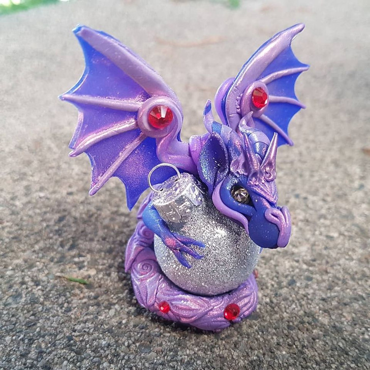 Dragon Series 2 Ornament Chameleon 55