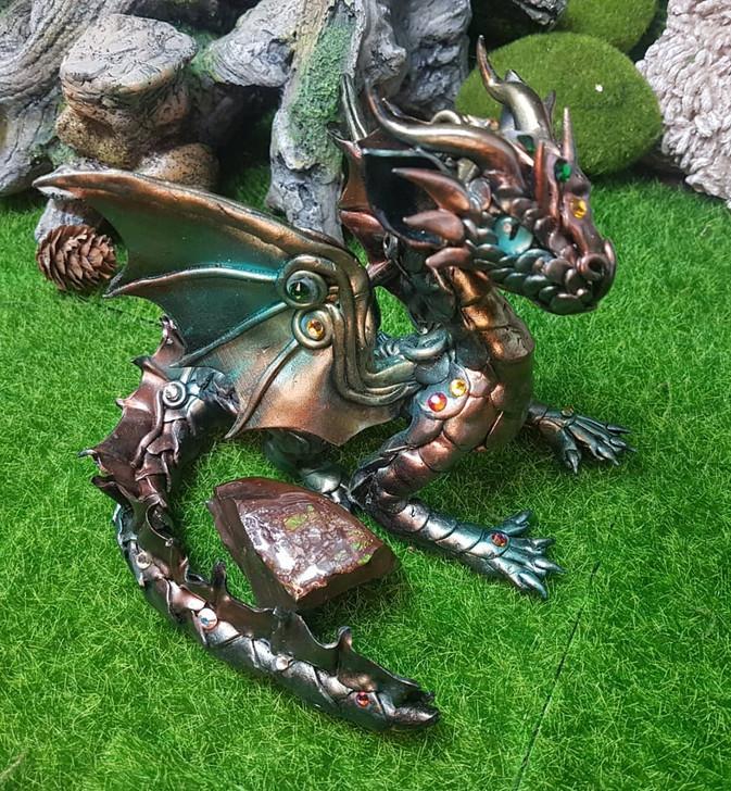 Ammolite Stone Dragon Guardian 2021