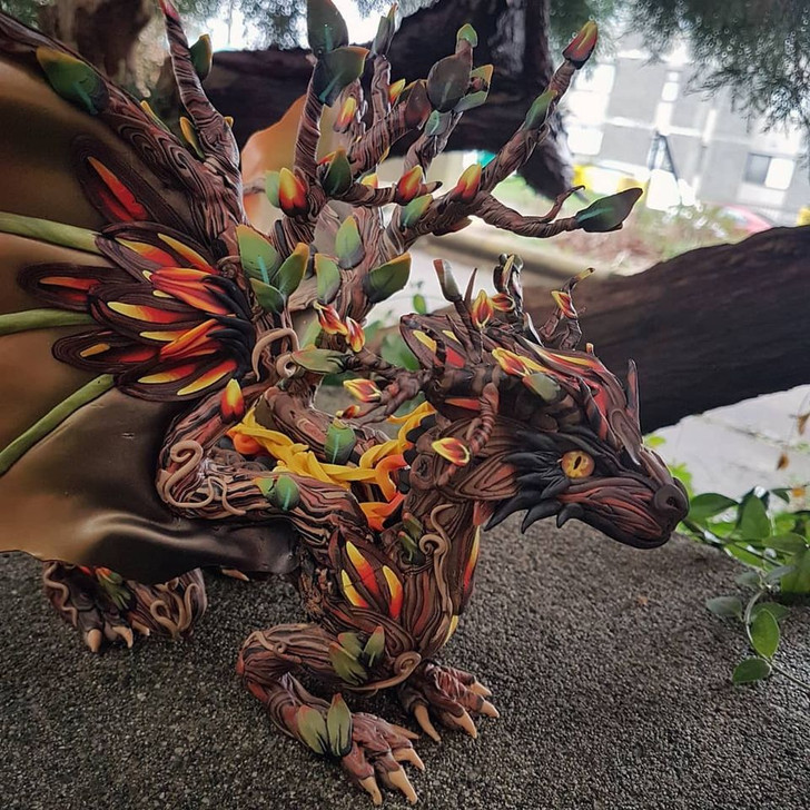 Forest Fire Dragon