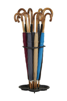 Gents Hickory Solid Stick Ince Umbrellas - Classic Colours