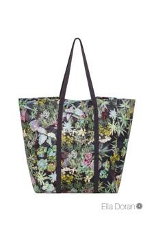 Ella Doran Surreal Succulent - Market Bag