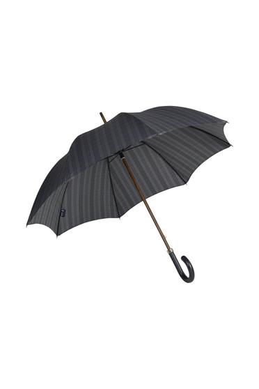 Gents Beechwood Ince Umbrella - Prince of Wales Plaid