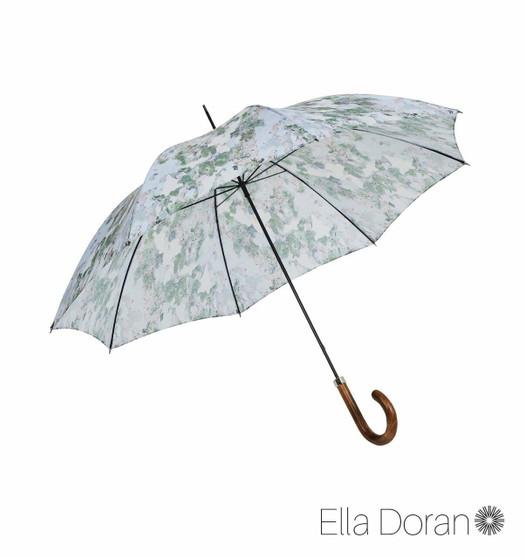 "Ella Doran Camouflage light - 25"" City Slim Umbrella - light maple handle"