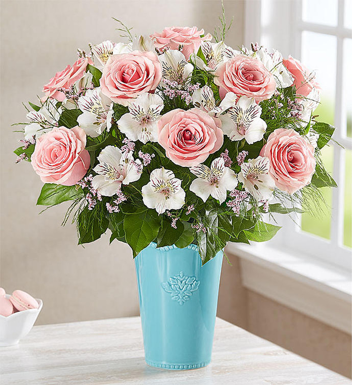 Pink And White Arrangement Simi Valley Florist Free Same Day