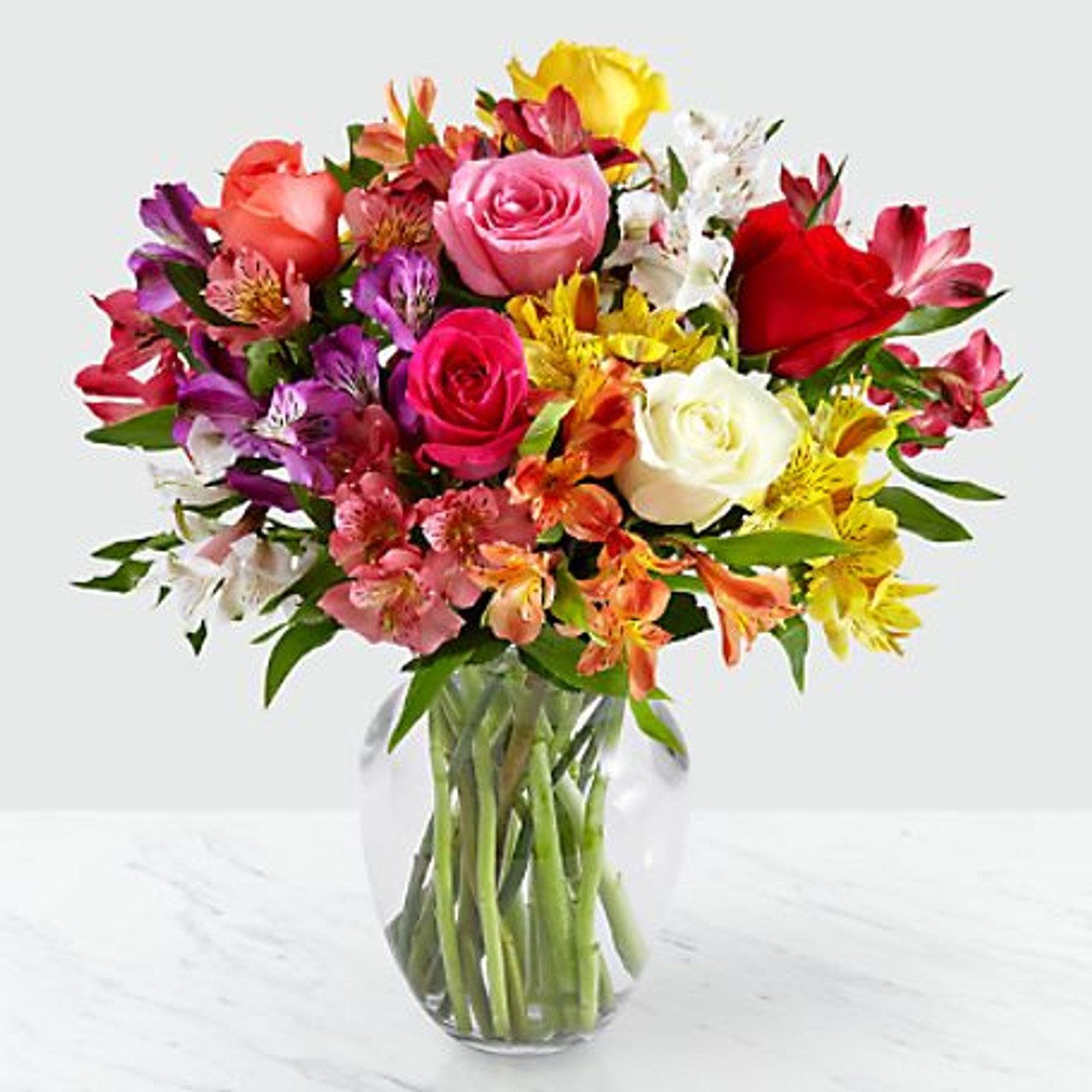 Beautiful Flowers in a Vase