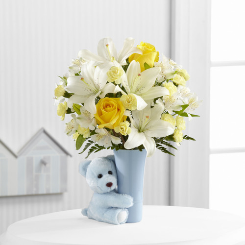 Baby Boy Big Hug Bouquet Simi Valley Flower Delivery