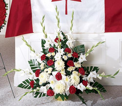Cherished Farewell Arrangement Florist Simi Valley