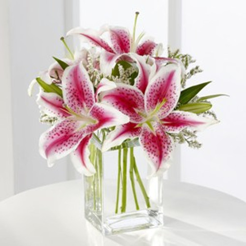 Pink Lily Bouquet Flowers Simi Valley
