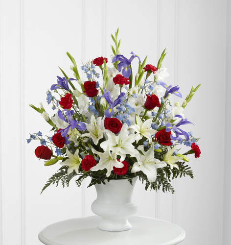 The Cherished Farewell Arrangement Simi Valley Flower Delivery