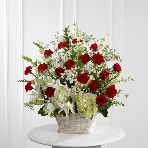 The In Loving Memory Arrangement Florist Simi Valley