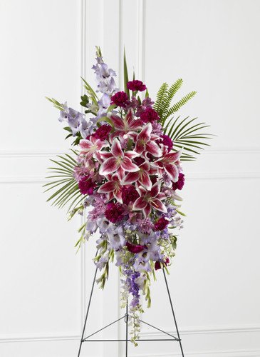The Tender Touch Standing Spray Flowers Simi Valley