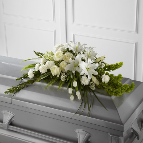 The Resurrection Casket Spray Simi Valley Flower Delivery