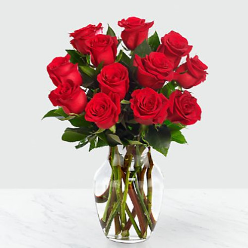 Picked fresh from the farm to offer your special recipient a gift straight from the heart, our stunning Red Rose Bouquet is a classic romantic gesture that will have them falling head over heels in love with each exquisite bloom. Hand gathered in select floral farms and flaunting a rich red hue, this stunning flower arrangement has been picked fresh for you to help you celebrate a birthday, anniversary, or convey your message of love and sweet affection.
