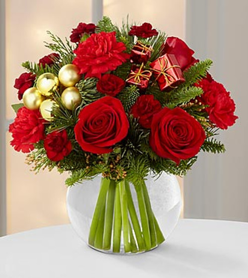 Holiday Gold Bouquet Simi Valley Florist