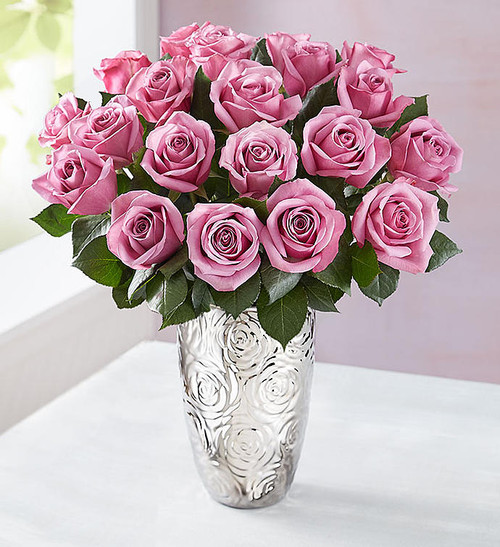 Thank you. Happy birthday. I love you. Whatever it is you want to say, let our radiant lavender purple roses do it for you! Just one look will have someone special in your life feeling like royalty.