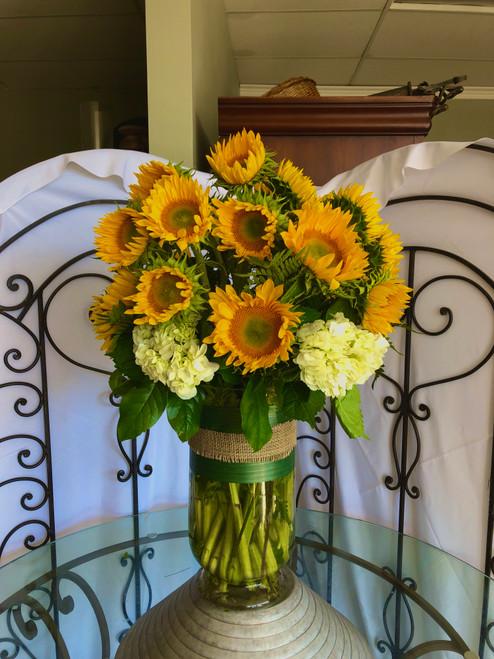 2 Dozen Sunflower Luxe