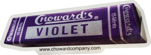 Choward's Violet Sticker