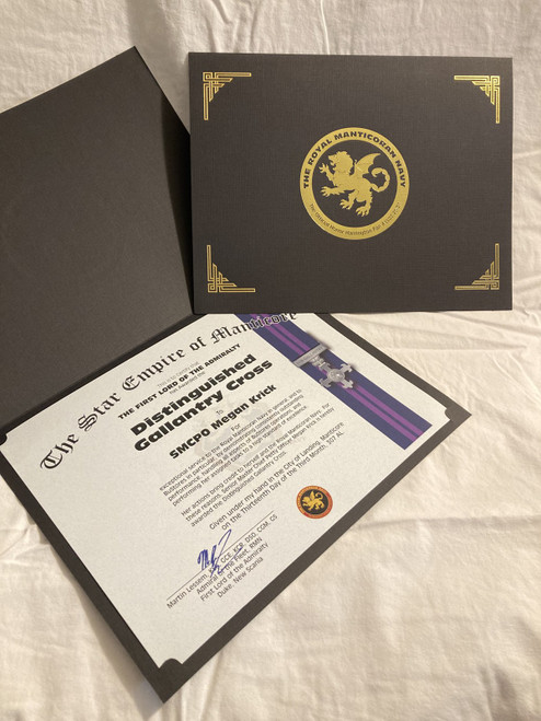 RMMC Award Certificate