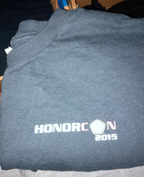 Honorcon 2015 T-shirt - Used - Good Condition - Size 4XL