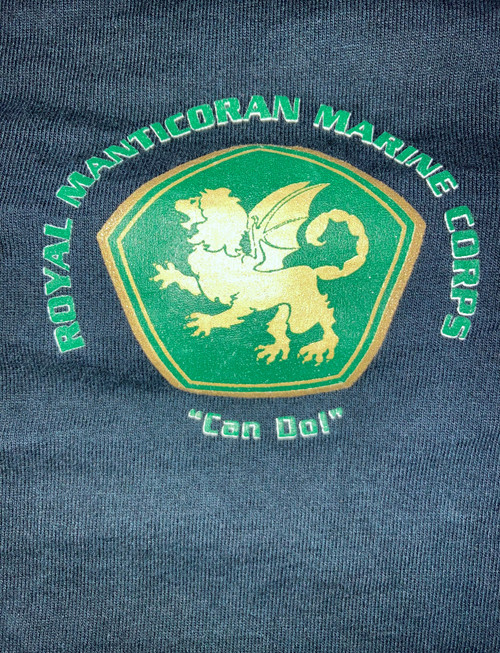 RMMC Can Do T-shirt - Used - Good Condition - Size 4XL