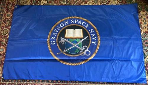 Grayson Space Navy Crest Banner