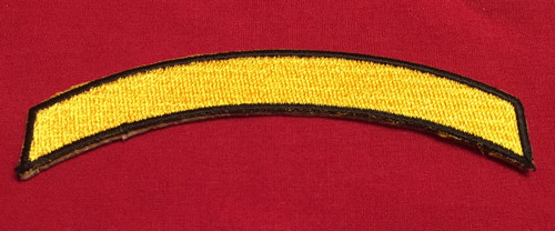 Multi-Service Enlisted Rocker (Yellow)