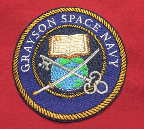 Grayson Space Navy Shoulder Patch