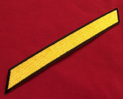Multi-Service Enlisted Stripe (Yellow)