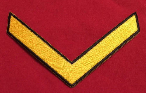 Multi-Service Enlisted Chevron (Yellow)