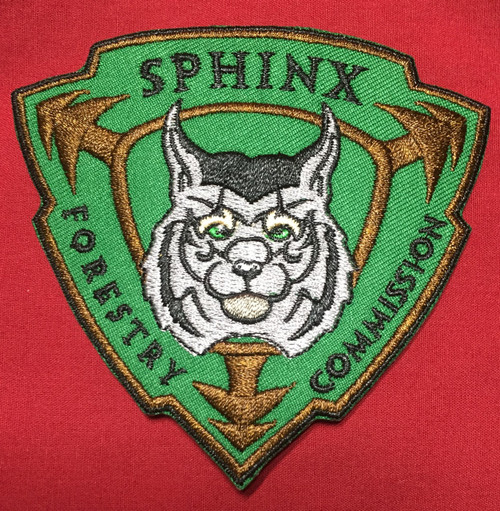 Sphinx Forestry Commission Shoulder Patch