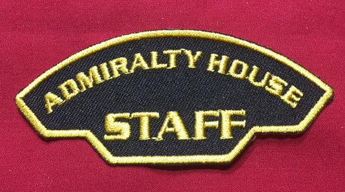 Admiralty House Staff Patch