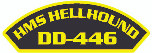 50 Ships Patches for the HMS Hellhound DD-446