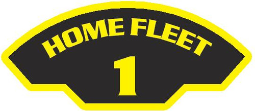 50 patches of 1st Home Fleet.  Please be aware if this is the first run, 11 of those patches will be withheld for our legal obligation. After the initial order, all 50 patches will be shipped.
