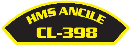 50 patches of HMS Ancile CL-398.  Please be aware if this is the first run, 11 of those patches will be withheld for our legal obligation. After the initial order, all 50 patches will be shipped.