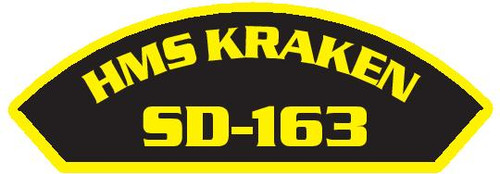 50 patches of HMS Kraken SD-163.  Please be aware if this is the first run, 11 of those patches will be withheld for our legal obligation. After the initial order, all 50 patches will be shipped.