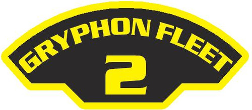 50 patches of 2nd Gryphon Fleet.  Please be aware if this is the first run, 11 of those patches will be withheld for our legal obligation. After the initial order, all 50 patches will be shipped. Remember only fleet command triads can wear these on a uniform.