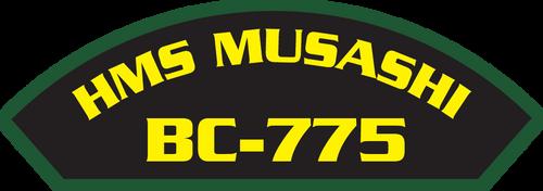 HMS Musashi BC-775 - Marine Patches