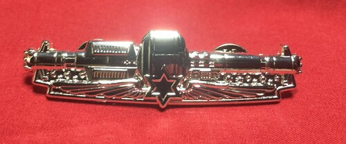 GSWP002 - Grayson Space Navy Enlisted Space Warfare Pin
