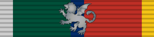 Manticore and Havenite 1905-22 War Medal (Ribbon Only)